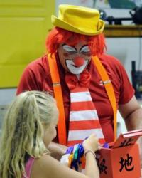 Ateliers clown et magie, Carcassonne Aude
