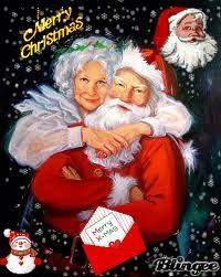 La mère Noël est la..........du père Noël.